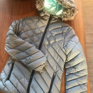 Eddie Bauer woman's puffer down jacket eb650 XS